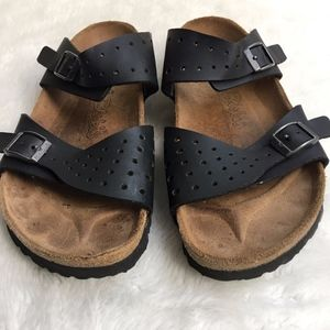 Birki's by Birkenstock Black Sandals Size 8 Narrow